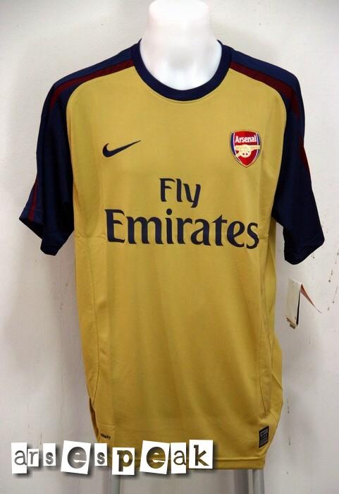 reputable site e7adb df6af Arsenal Away Kit 08/09 – New pictures – ArseSpeak