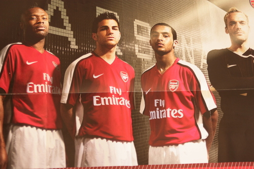 Arsenal Kit 08/09
