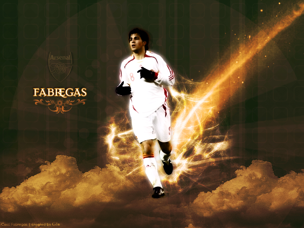 New Arsenal Wallpapers Cesc Fabregas Arsespeak