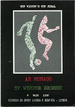 The matchday programme, from Estadio de Luz, Porto