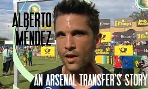 Alberto Méndez, Arsenal